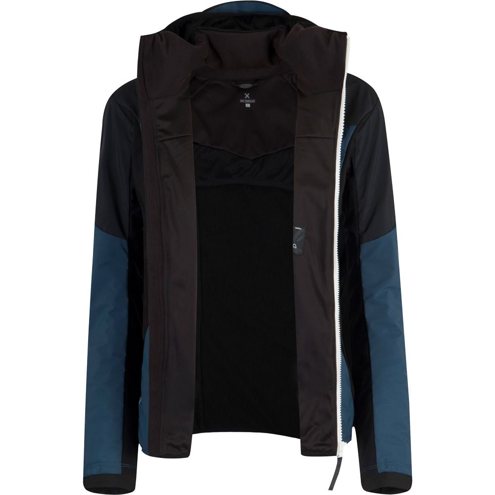 Air Action Hybridjacke Damen blu cenere