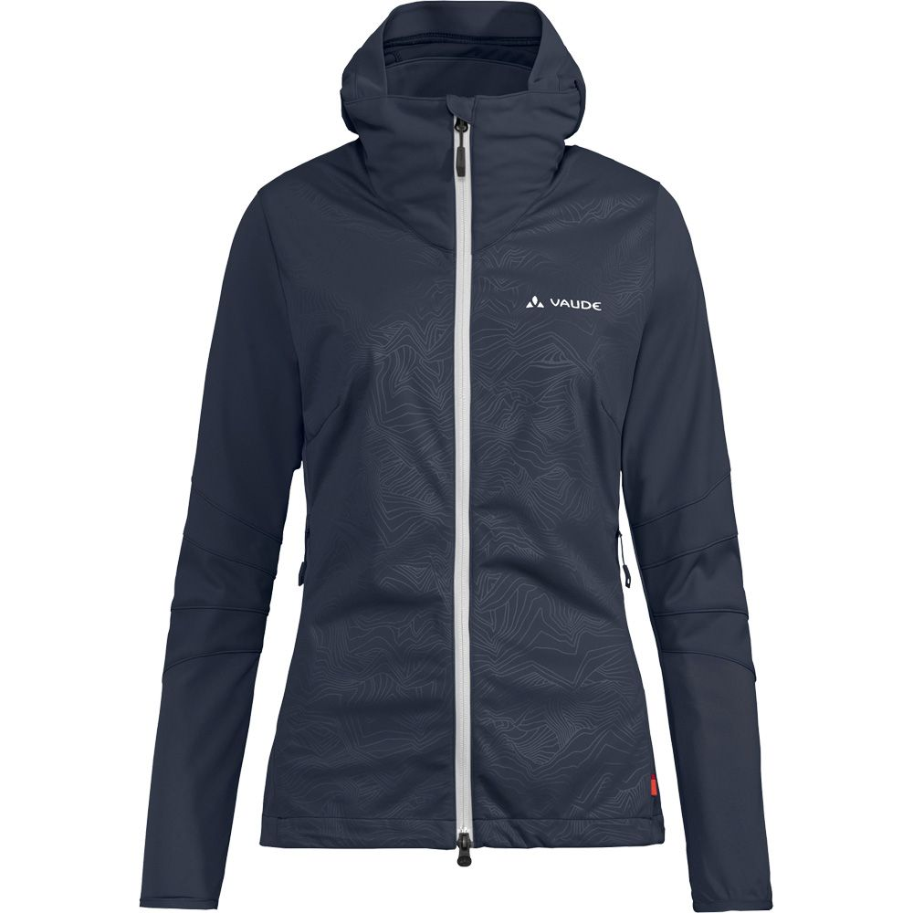 promo code 1bed4 2d268 VAUDE - Croz Softshell Jacket Softshelljacke Damen eclipse