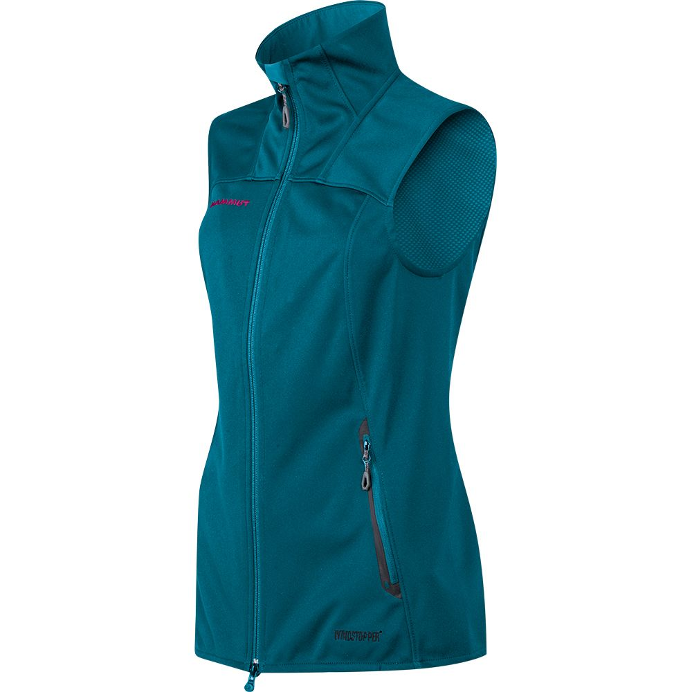 buy online c5caf 81623 Mammut - Ultimate SO Vest Women dark pacific radiance at ...