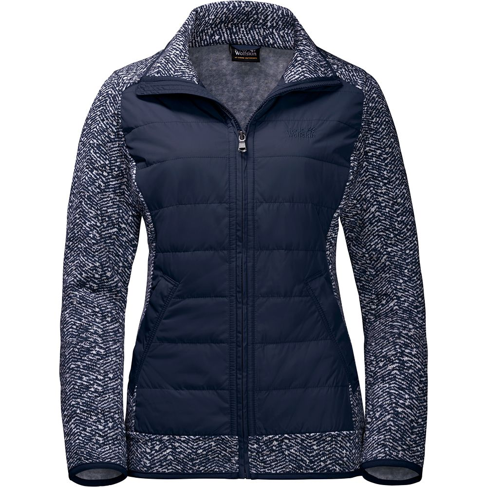 quality design 0a52e 02a22 Jack Wolfskin - Belleville Crossing Fleece Jacket Women blue ...