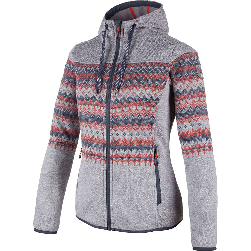 CMP Hybrid Fleece Jacket Women gesso at Sport Bittl Shop