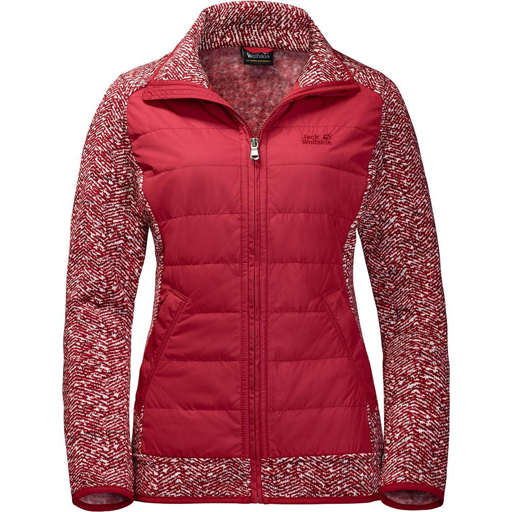 Jack Wolfskin Belleville Crossing Fleecejacke Damen indian