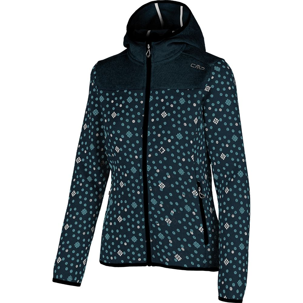 CMP Fleece Jacket Women syrah candy at Sport Bittl Shop