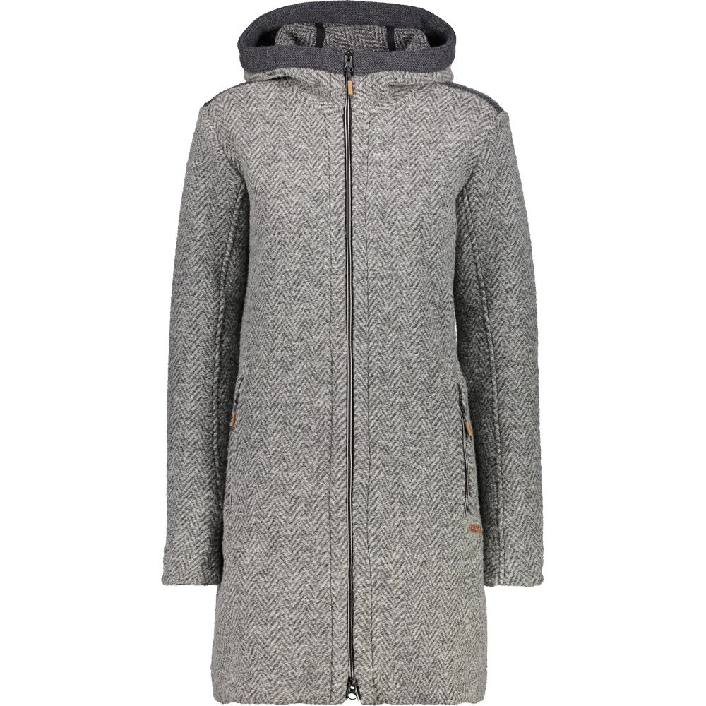 CMP - Fix Hood Coat Women fumo rock at Sport Bittl Shop ae6ea6b485