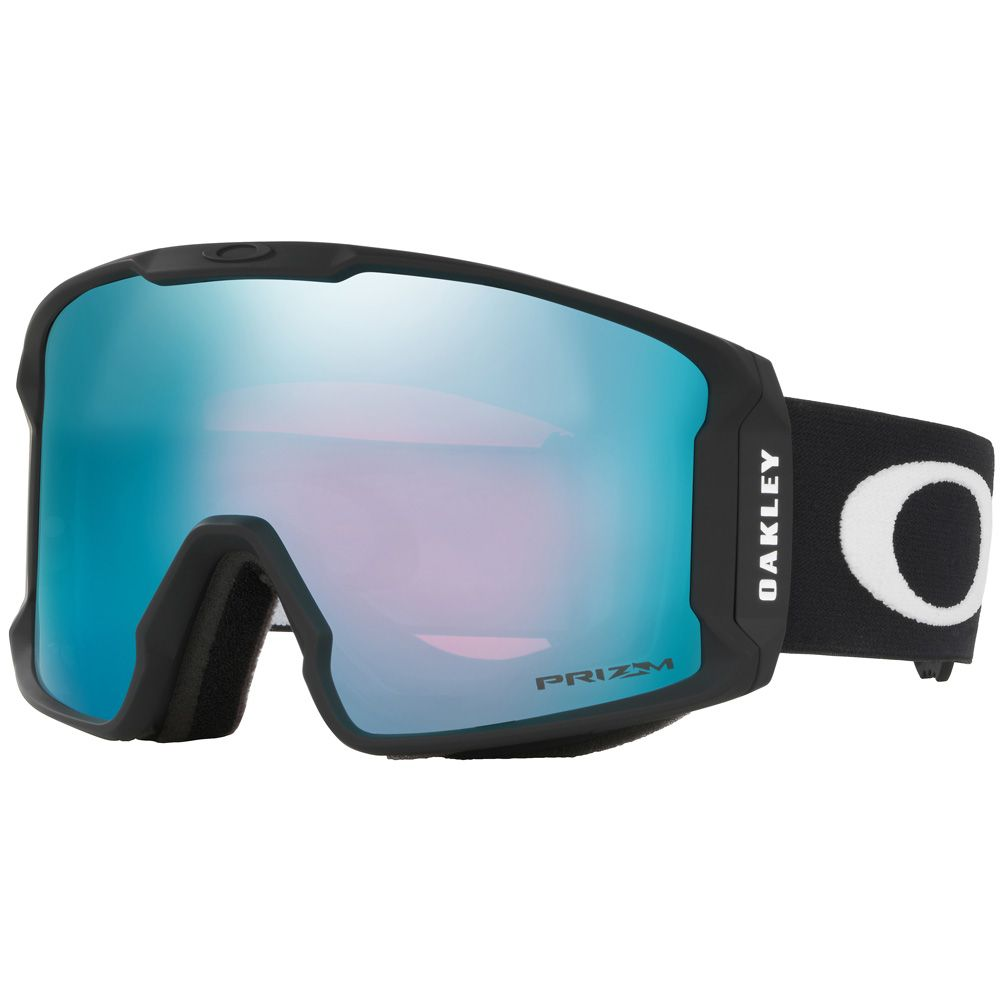 Line Miner goggle matte black Prizm sapphire iridium