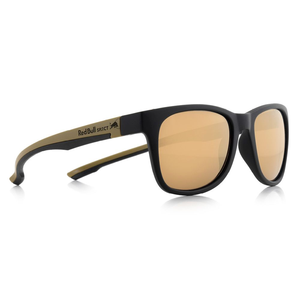 860758b2846e Red Bull SPECT Eyewear - Indy matt black gold mirror at Sport Bittl Shop