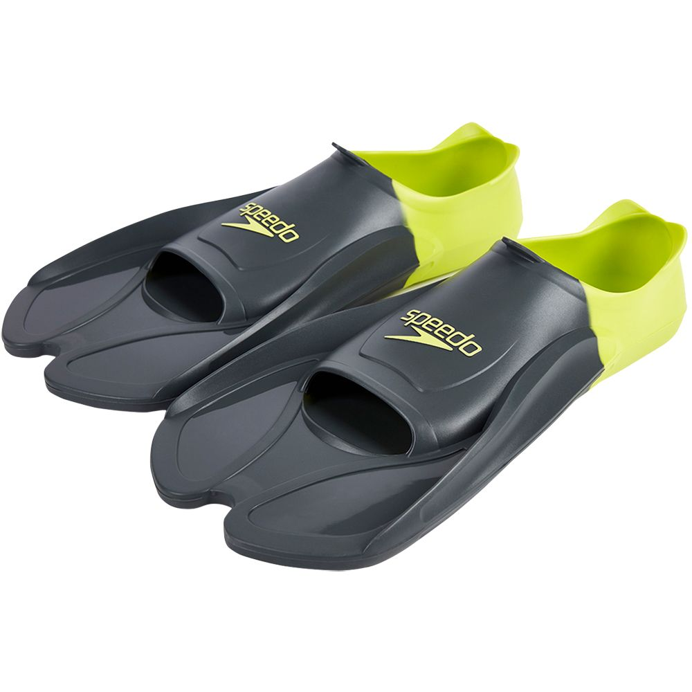 a0470f70c7 Speedo - Training Fin oxid grey lime punch at Sport Bittl Shop