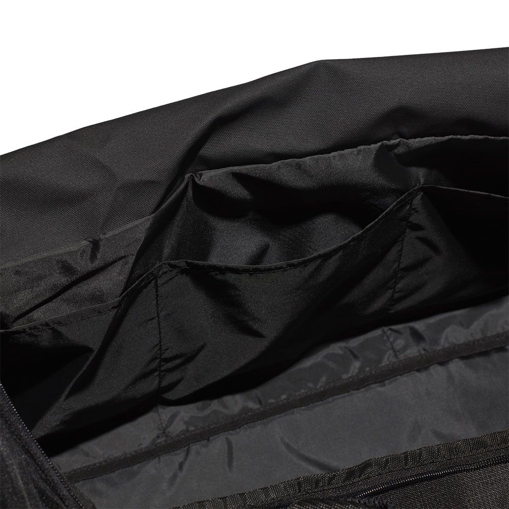 new style 428bb 103a0 Convertible 3-Stripes Duffel Bag Large black