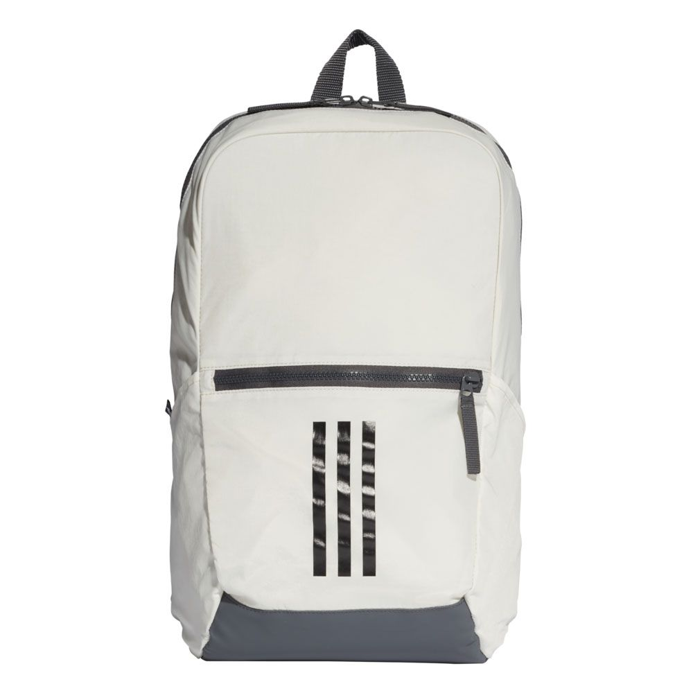 adidas Parkhood Backpack raw white grey six black