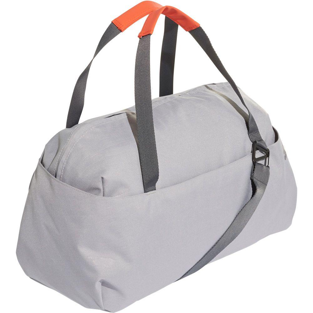 adidas ID Duffel Bag Women grey six active orange
