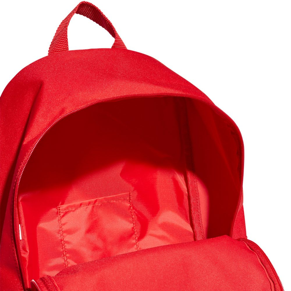 adidas Linear Classic Daily Backpack scarlet white