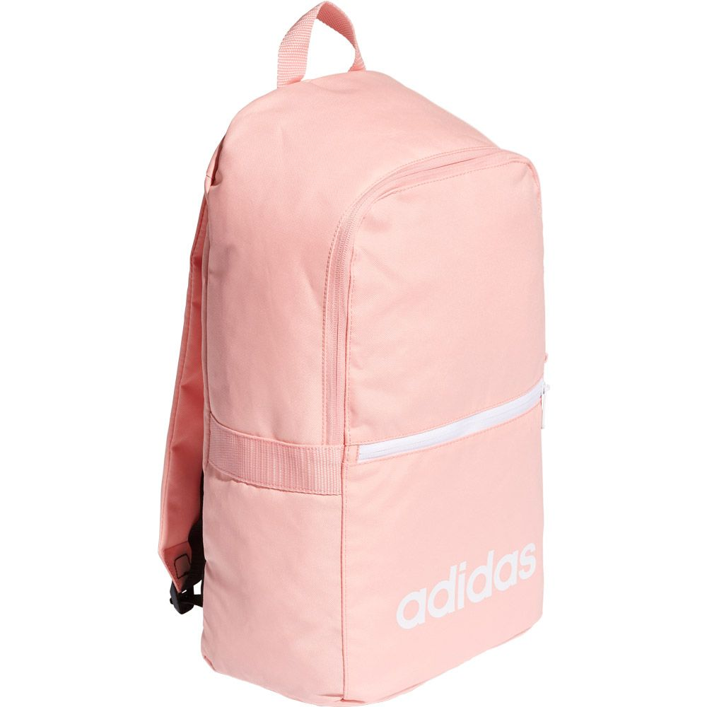 adidas Linear Classic Daily Backpack glory pink white