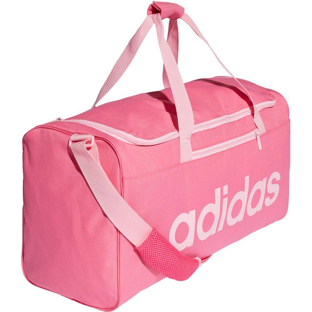 e716681290859 adidas - Linear Core Sporttasche Medium semi solar pink true pink ...