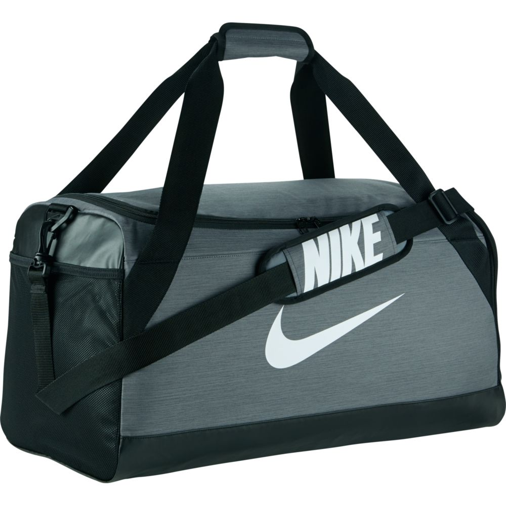 f300f1e5f8 Nike - Brasilia Medium Training Bag Unisex flint grey black white at ...