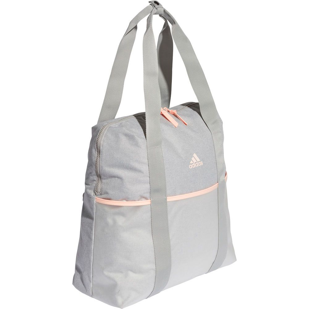 c67363a995 adidas - ID Tote Bag Women medium grey heather clear orange grey ...