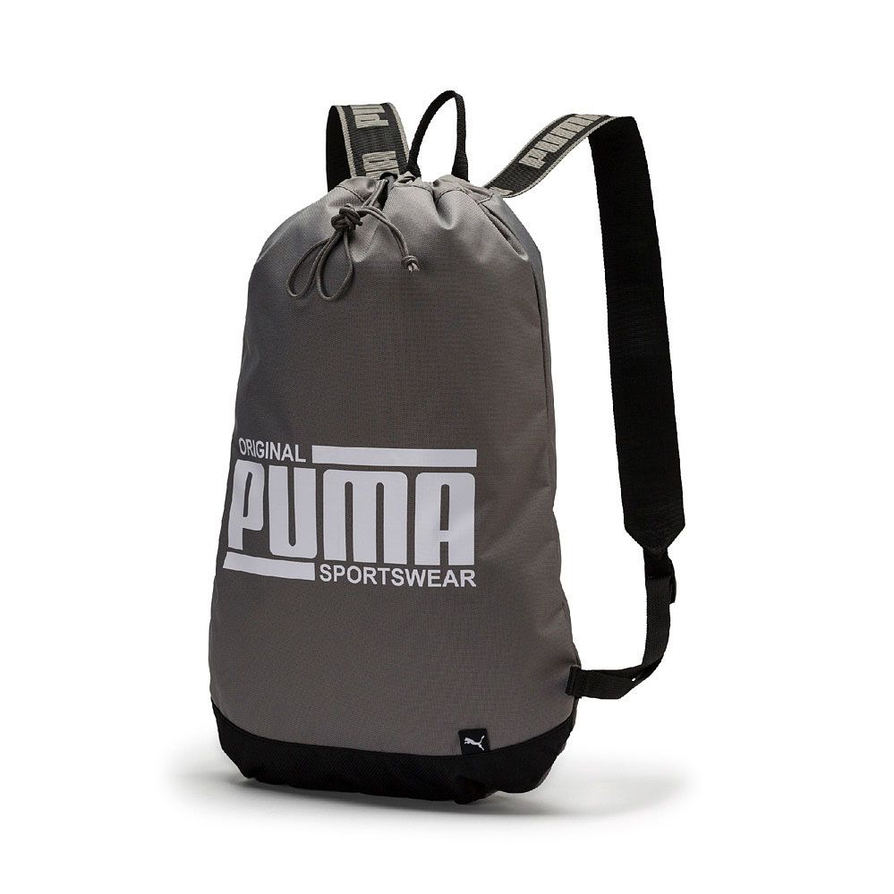 009bbcb9e615 Puma - Sole Smart Bag charcoal gray puma white at Sport Bittl Shop