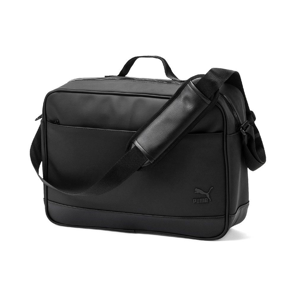 5990e7d62826 Puma - Originals Reporter Bag puma black at Sport Bittl Shop