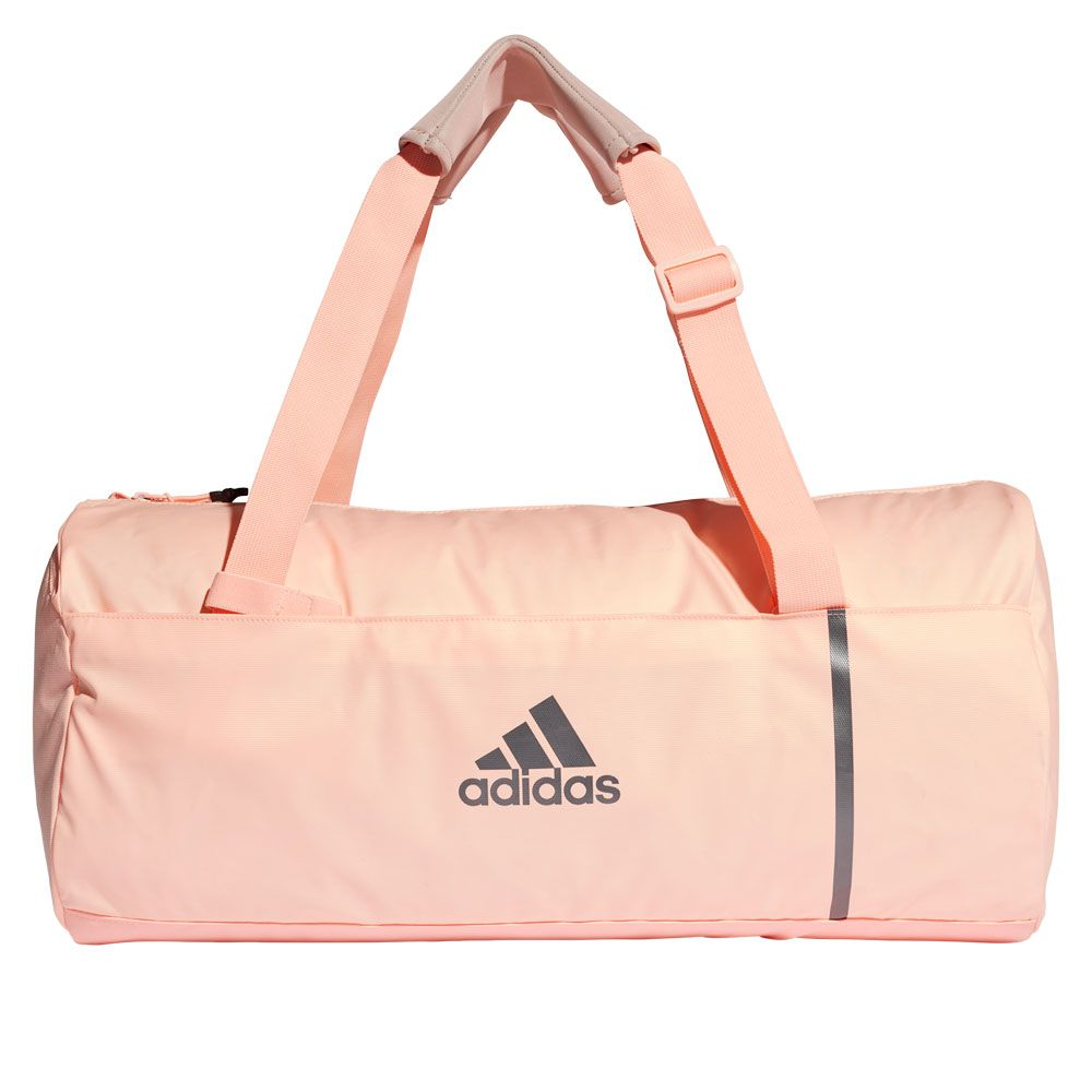937d26bc9f6a adidas - Convertible Training Duffel Bag Medium Women clear orange ...
