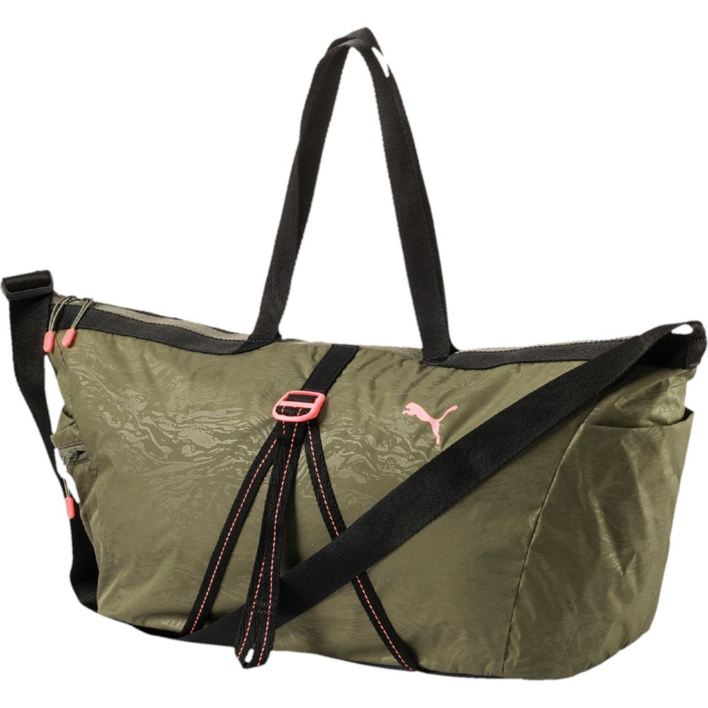 Puma - Fit AT Workout Bag Unisex olive night at Sport Bittl Shop 366136b133161