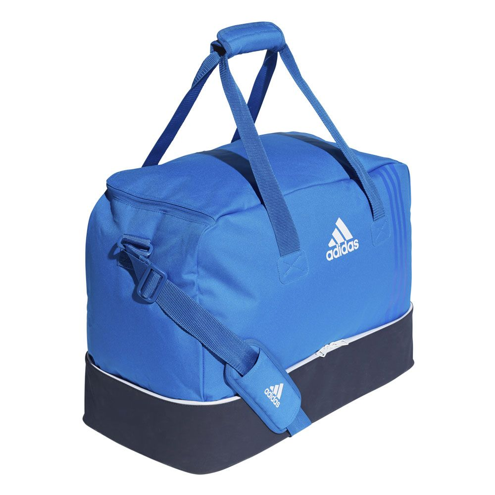 1112bbb158 adidas - Tiro Team Bag M blue collegiate navy white at Sport Bittl Shop