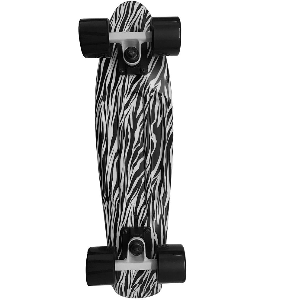 urban vintage skateboard zebra kaufen im sport bittl shop. Black Bedroom Furniture Sets. Home Design Ideas
