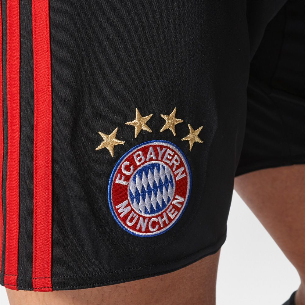 adidas fc bayern home torwart shorts 17 18 herren schwarz kaufen im sport bittl shop. Black Bedroom Furniture Sets. Home Design Ideas