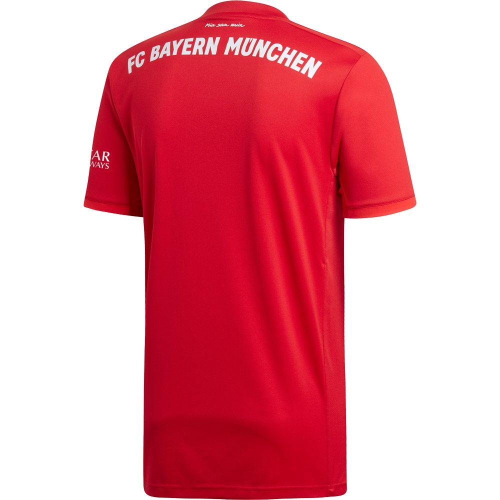 adidas FC Bayern Home Trikot 1920 Herren fcb true red