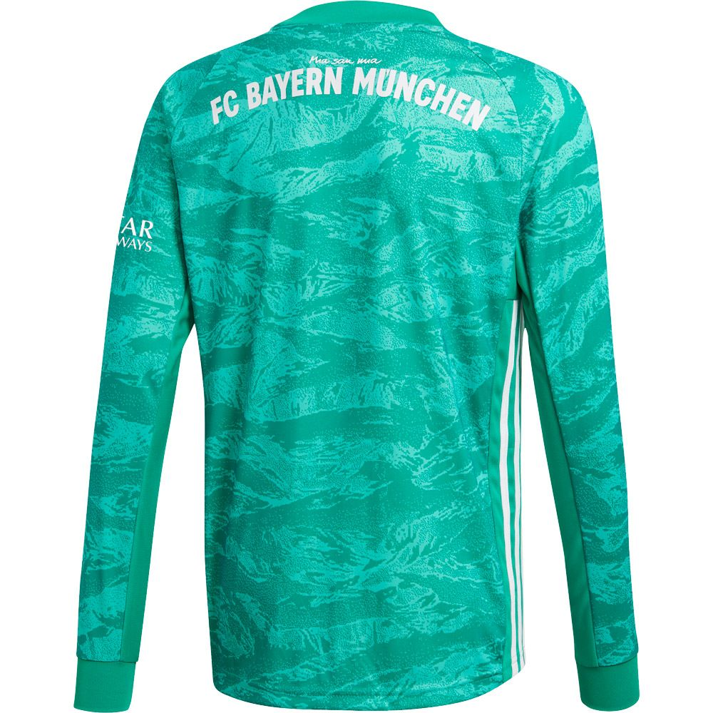 adidas FC Bayern Home Torwarttrikot 1920 Kinder core green