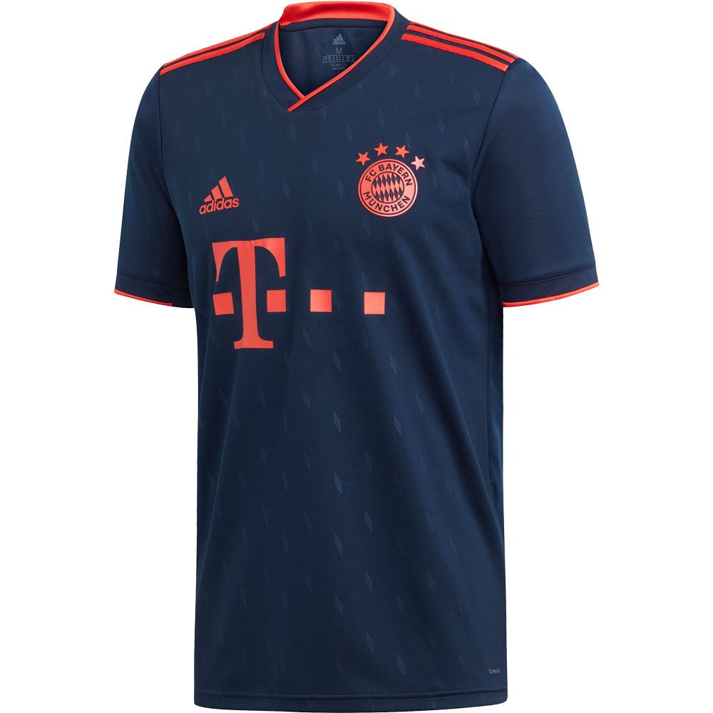 adidas FC Bayern CL Trikot 1920 Herren collegiate navy bright red