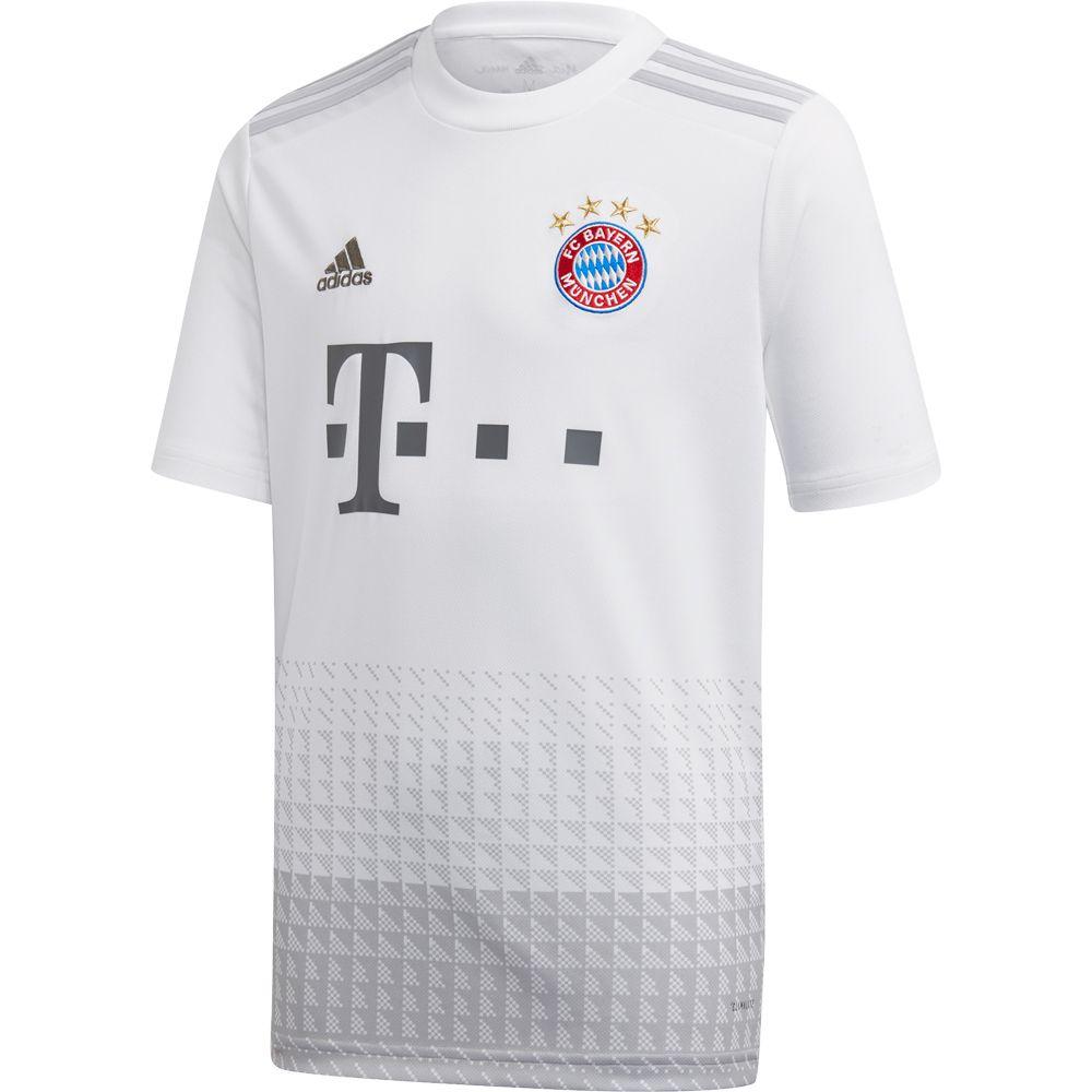 adidas FC Bayern Away Jersey 1920 Kids white