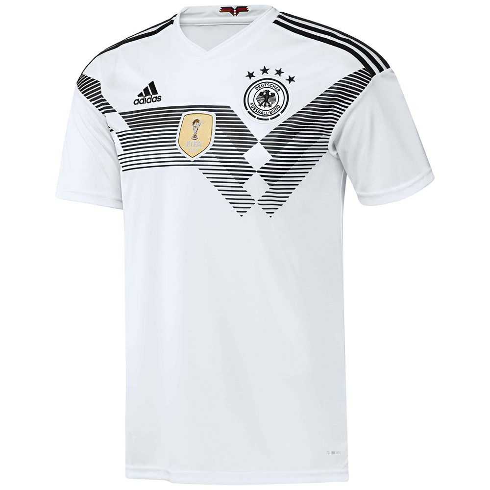 adidas dfb home trikot wm 2018 herren wei kaufen im sport bittl shop. Black Bedroom Furniture Sets. Home Design Ideas