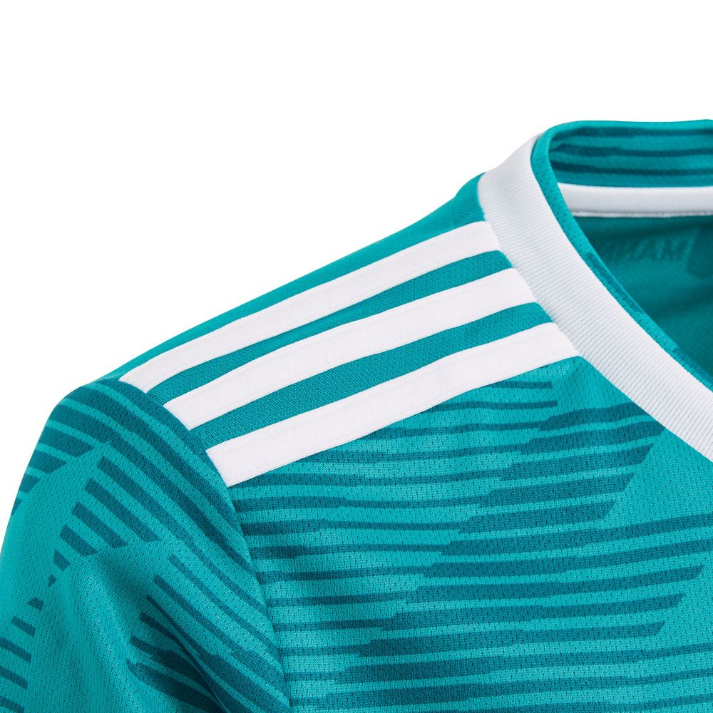 adidas dfb away jersey world cup 2018 kids eqt green white real teal at sport bittl shop. Black Bedroom Furniture Sets. Home Design Ideas