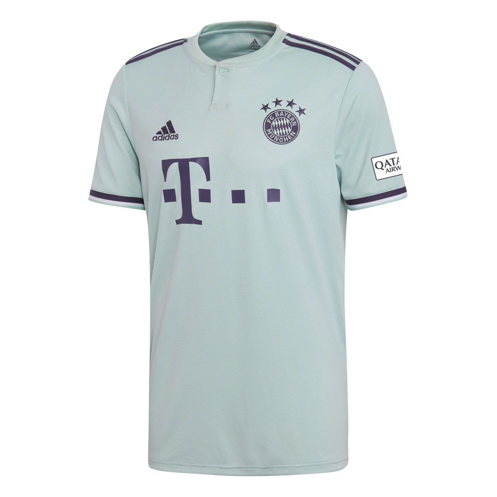 info for 1e0a5 4cdce adidas - FC Bayern Away Trikot 18/19 Herren ash green trace purple white
