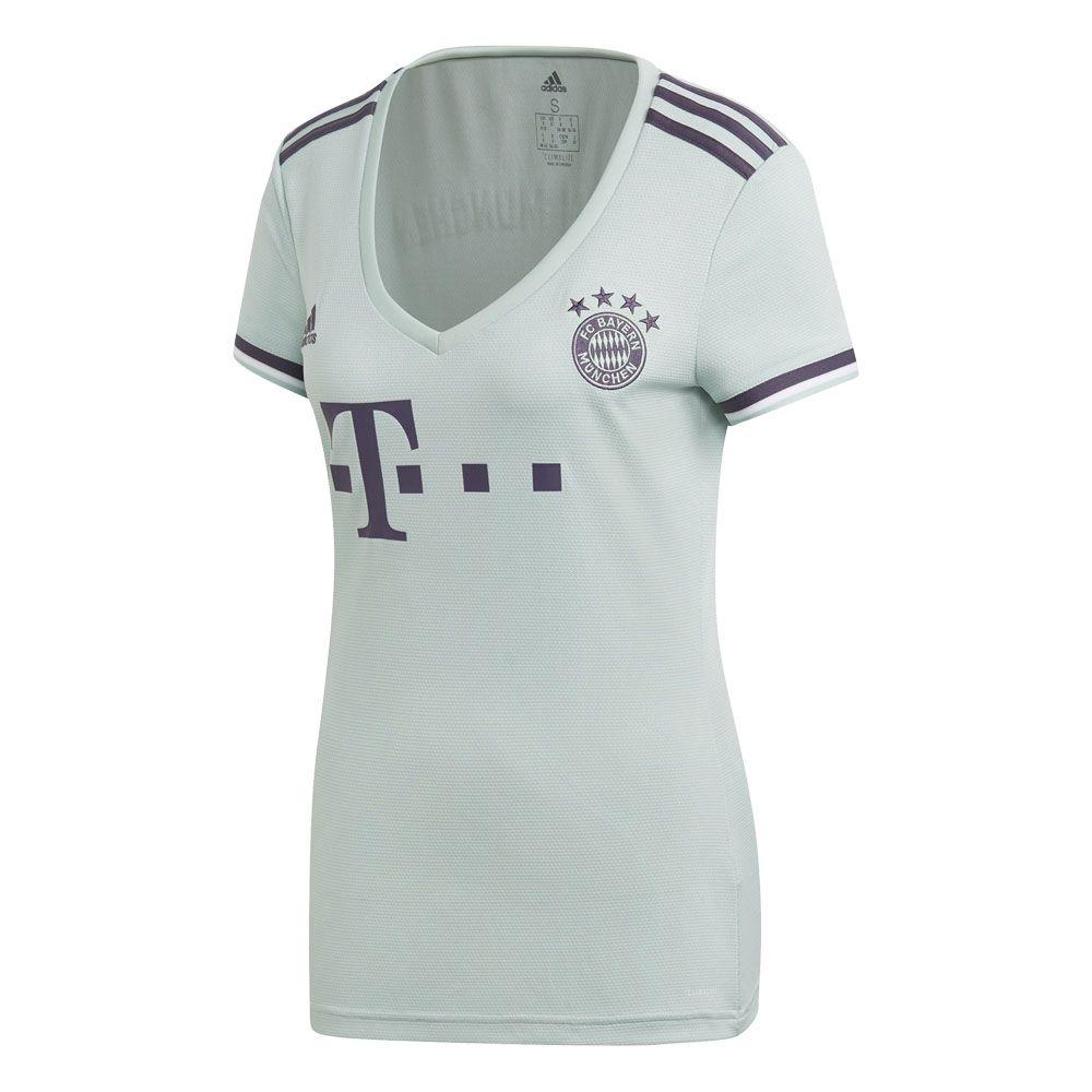 6f6c6805e adidas - FC Bayern Away Jersey 18 19 Women ash green trace purple ...