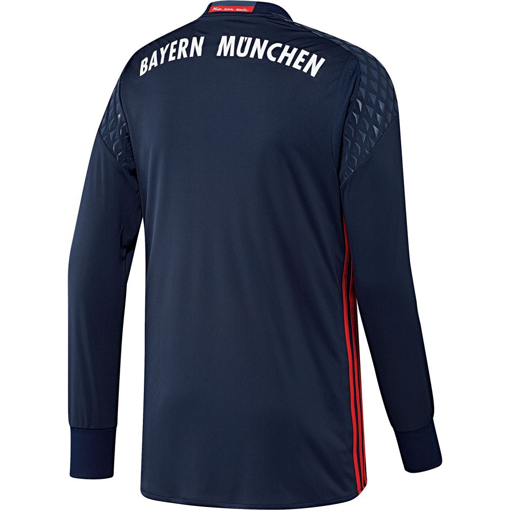 adidas fc bayern home torwart trikot 16 17 kinder blau. Black Bedroom Furniture Sets. Home Design Ideas