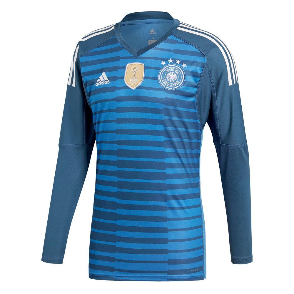adidas DFB Home Torwarttrikot WM 2018 Herren royal