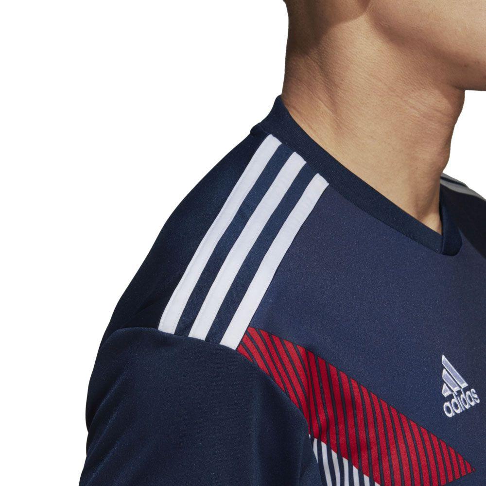 adidas FC Bayern Home Pre Match Shirt Herren collegiate navy white