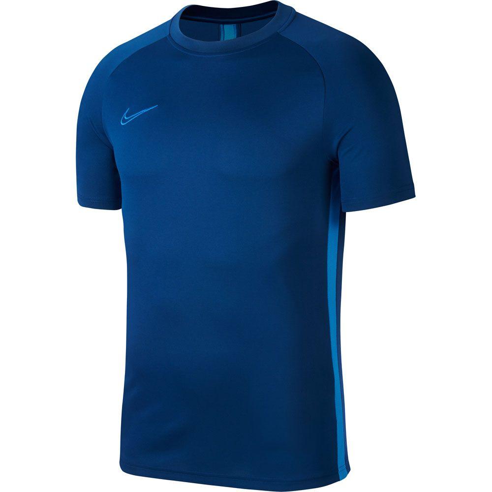 official photos 7bc02 dda51 Nike - Dri-FIT Academy Fußball T-Shirt Herren coastal blue lt photo blue lt