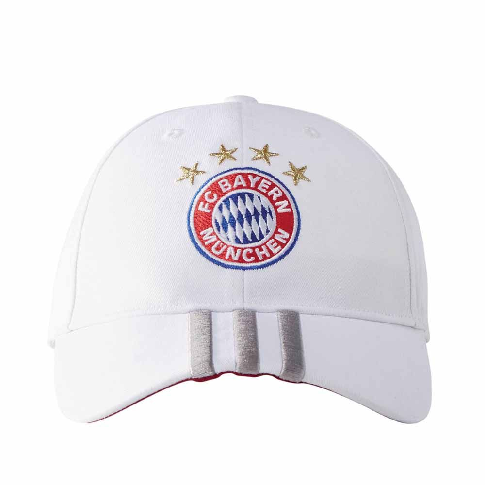 adidas fc bayern cap white kaufen im sport bittl shop. Black Bedroom Furniture Sets. Home Design Ideas