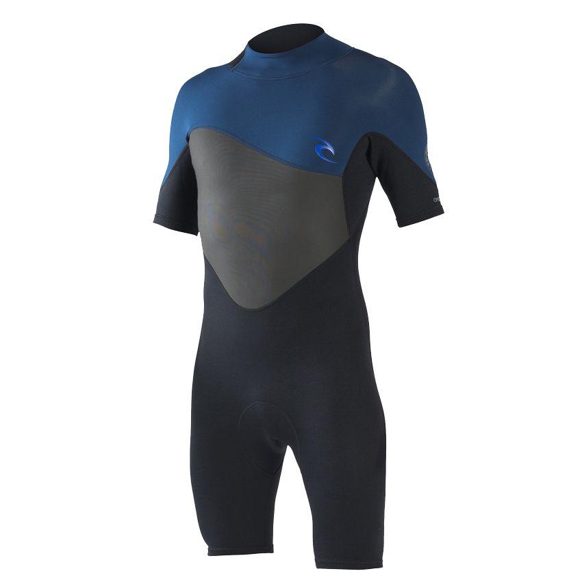 Omega Short Sleeve Backzip Springsuit navy