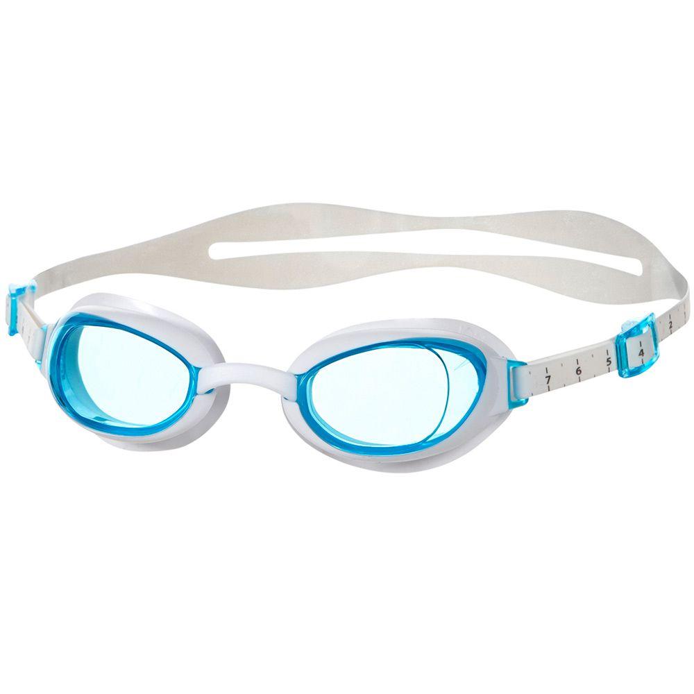 51038ae11213d Speedo - Aquapure Female Schwimmbrille Damen white blue kaufen im ...