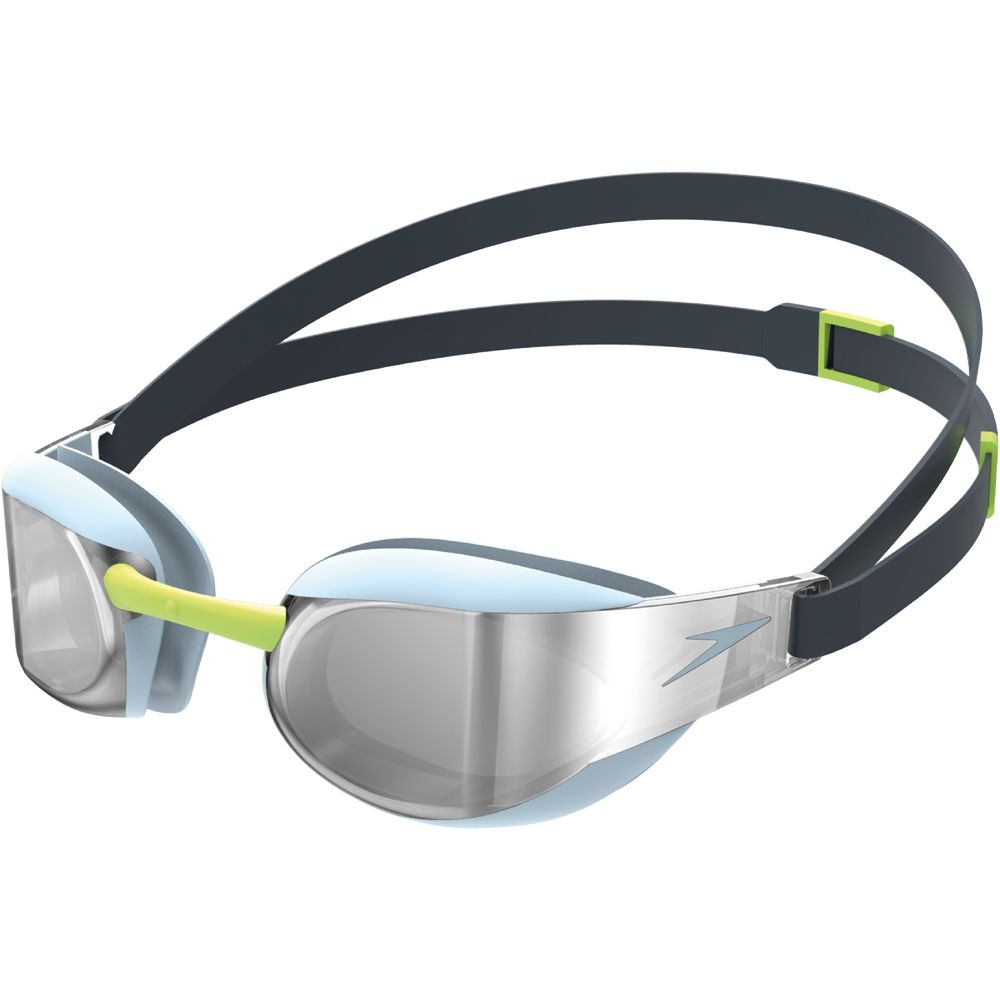 marketable search for authentic cheap prices Speedo - Fastskin Elite Mirror Goggles blue silver