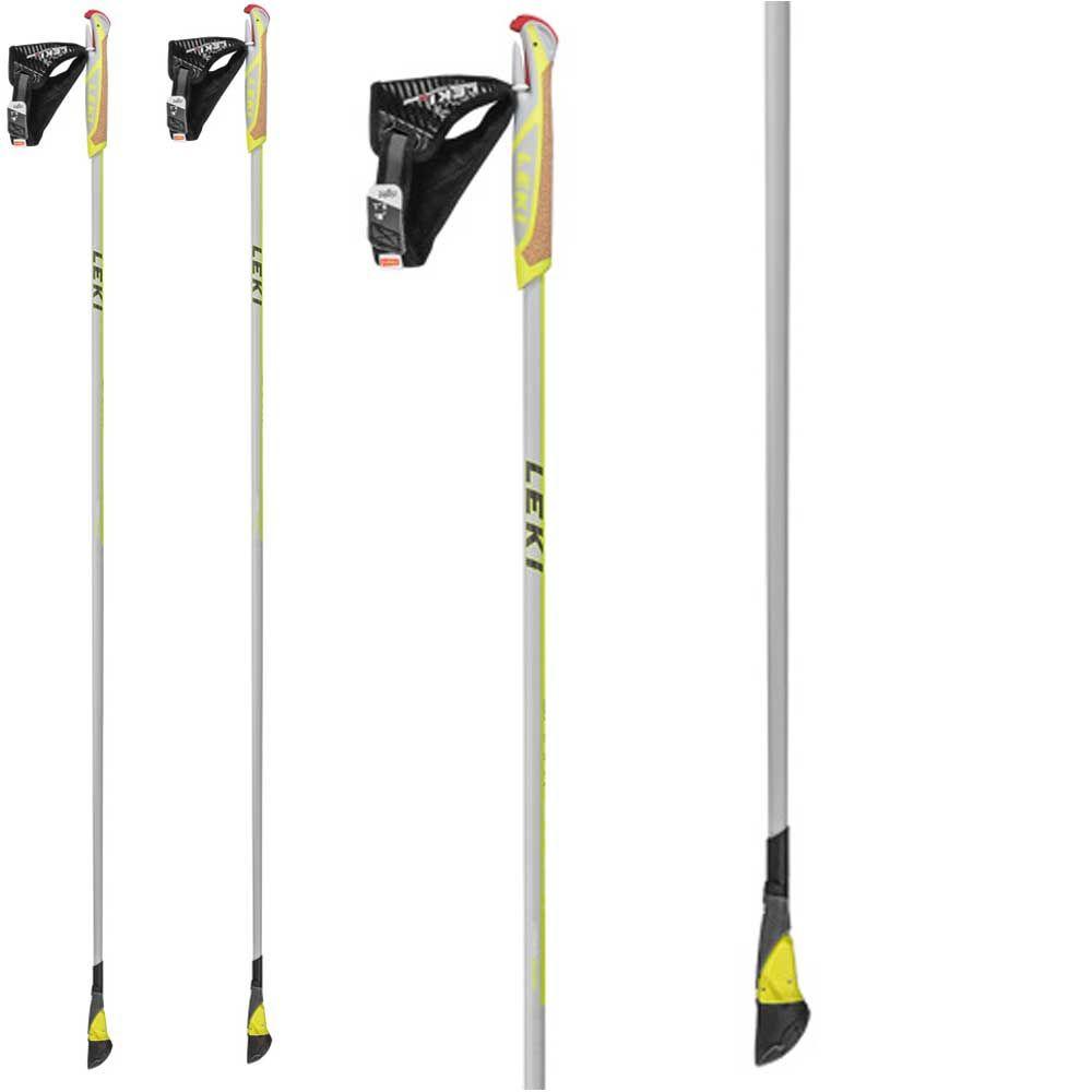 Leki Smart Carbon Nordic Walking Pole Smart Tip 20 Silver At