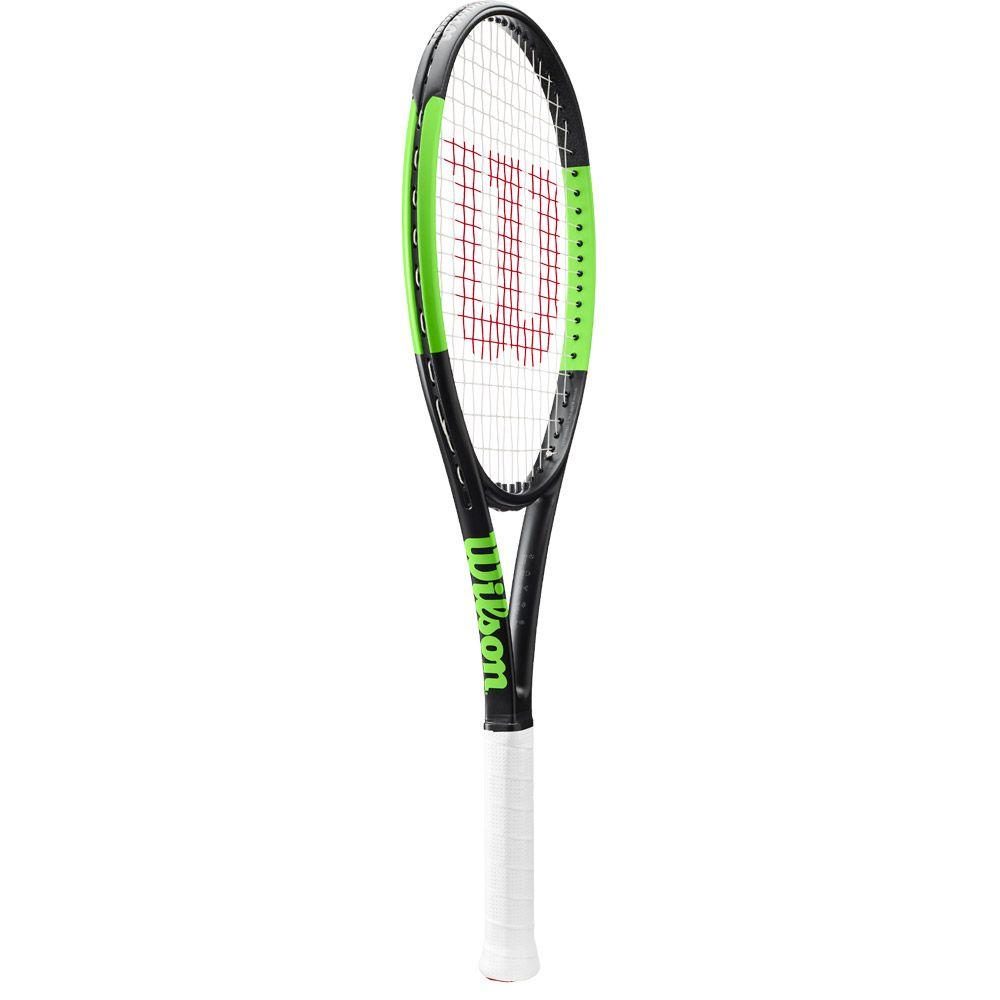 Blade 101L Tennisschläger besaitet schwarz grün