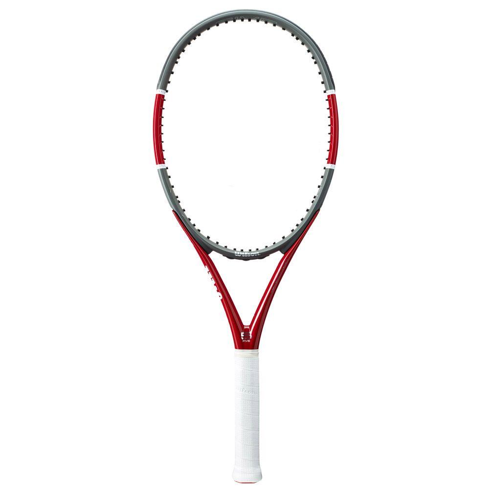 Triad Five Tennisschläger unbesaitet rot