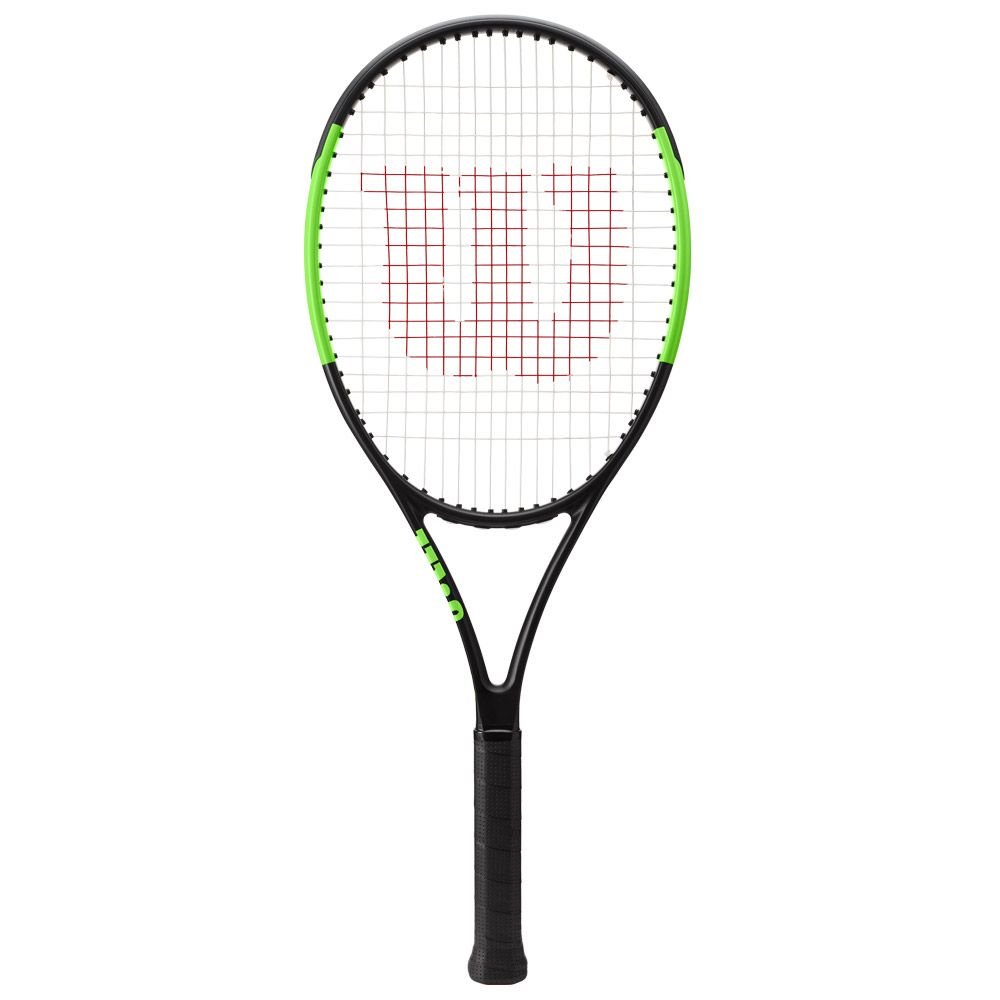 Blade 26 Junior racket strung black green