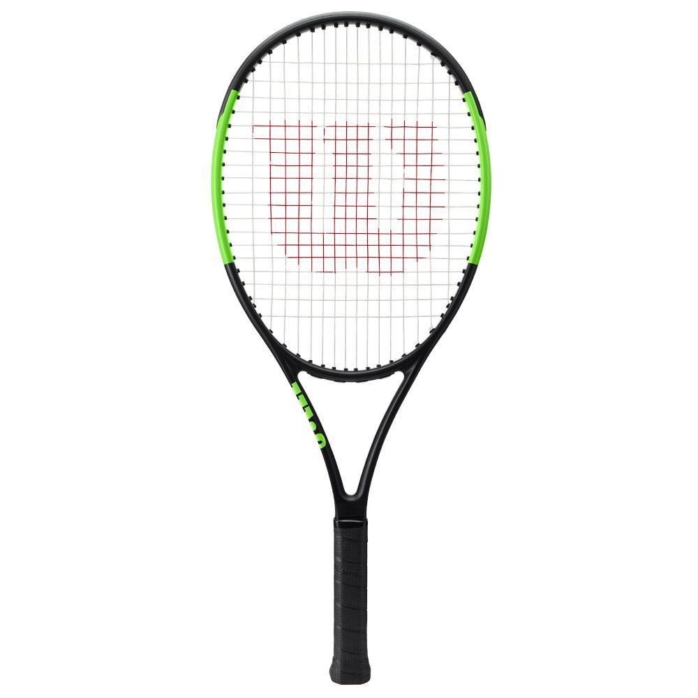 Blade 25 Junior racket strung black green