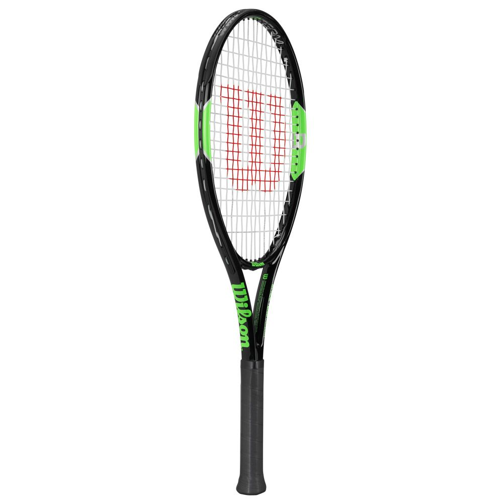 Blade Team 26 Junior racket strung black green
