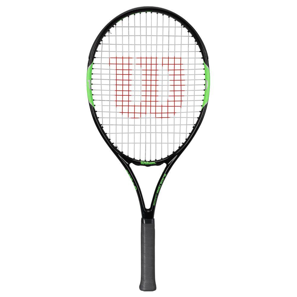 Blade Team 25 Junior racket strung black green