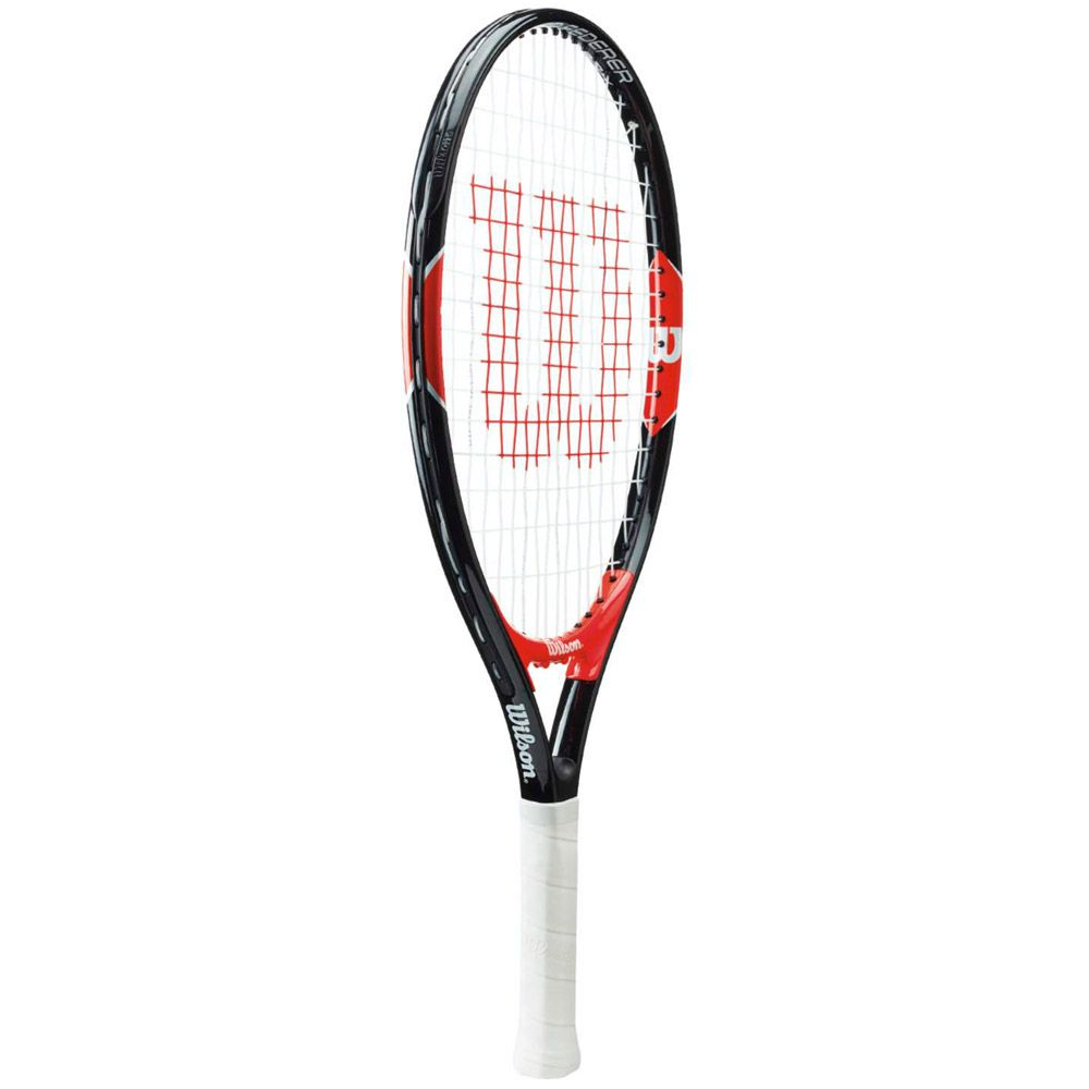 Roger Federer 21 junior Tennisschläger besaitet schwarz rot
